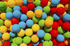 Color balls. Bright four color balls, background Stock Photo