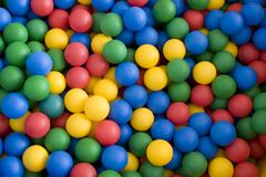 Color balls. Bright colors background royalty free stock images