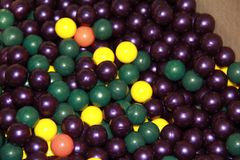 Paintball, Colored balls royalty free stock photos
