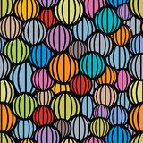 Color balls seamless pattern. Stock Images