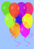 Color baloons Stock Image