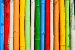Color Bamboo Stock Photo