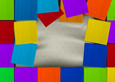 Color banner Royalty Free Stock Image