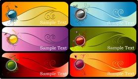 Color banner vector Stock Photos