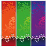 Color Banners Stock Image
