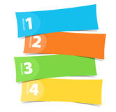 Color Banners Royalty Free Stock Images