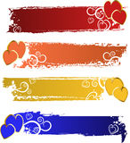 Color banners set Royalty Free Stock Images