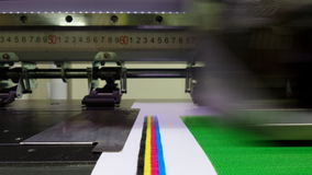 Color bars, correct ink nozzle functionality Stock Photography