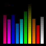 Color bars for monitor calibration Royalty Free Stock Photography