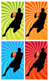 Color basketball 1 Royalty Free Stock Photography