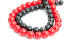 Color beads Stock Photography