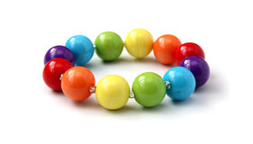 Color beads. Royalty Free Stock Photo