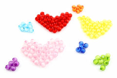 Color beads. Stock Photography