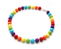 Color beads. Royalty Free Stock Photography