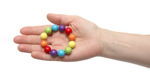 Color beads. Stock Photos