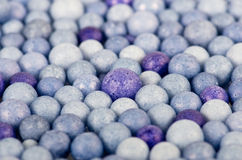 Color beads background Stock Image