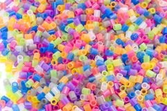 Color beads macro Royalty Free Stock Photo