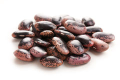 Color beans on white background Stock Images