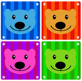 Color bears Stock Photo
