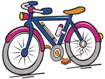 Color  bike Stock Images