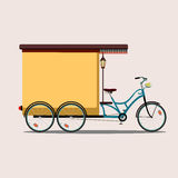 Color bike Royalty Free Stock Photos