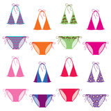 Color bikini Royalty Free Stock Photos