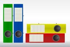 Color binders Stock Photos