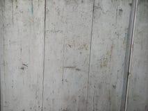 Color blanco de la textura del tablón de madera Foto de archivo