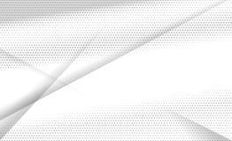Color blanco y gris geométrico Fotos de archivo