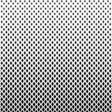 Color blanco y negro abstracto del golpeteo de semitono de las formas de los cuadrados stock de ilustración