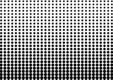 Color blanco y negro abstracto del patt geométrico del tono medio de las formas stock de ilustración