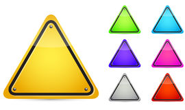 Color Blank Sign Stock Photos