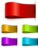 Color blank tags template Royalty Free Stock Photos