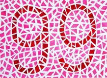 Color blind test -99. The Color blind test - 99 Stock Image