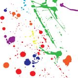 Color blobs Royalty Free Stock Photography
