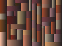 Color block design pattern earth tones gradient Royalty Free Stock Photo