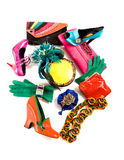 Color block still life fashion composition Stock Image