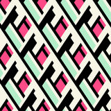 Color blocked bold pattern Stock Photos