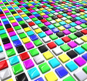 Color blocks Royalty Free Stock Image