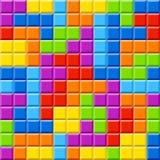 Color blocks background stock illustration