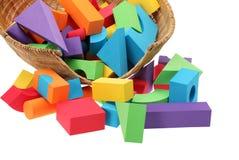 Color blocks Stock Image