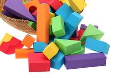 Color blocks Stock Photo