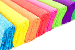 Color blotting paper Stock Image