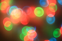 Color blur. Colorful red,green and blue bokeh blur Royalty Free Stock Photo