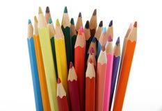 color blyertspennan Royaltyfri Foto