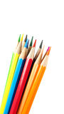 color blyertspennan Royaltyfri Fotografi