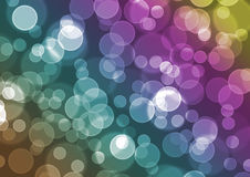 Color Bokeh Royalty Free Stock Photo