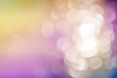 Color Bokeh Royalty Free Stock Image