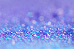 Color bokeh. Blue color of bokeh Royalty Free Stock Photography