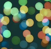 Color bokeh Stock Photography